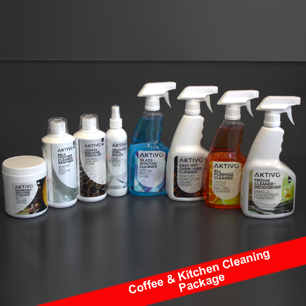 coffee & Kitchen Cleaning Pack